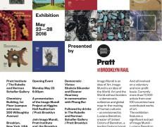 """Mi trabajo """"Hombre en el acantilado"""" junto a otros trabajos de artistas nacionales, será expuesto en Pratt Institute de Brooklyn, NY. Desde el 23 al 28 de mayo. Esto en el marco de la colección OJO ANDINO Chile, Imago Mundi"""