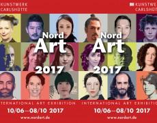 10 de junio al 8 de Octubre del 2017: Participación en la Feria de Arte NordArt, Büdelsdorf, Alemania.