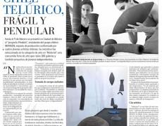 """""""Arte nacional en el extranjero: Chile telúrico, frágil y pendular"""" Diario El Mercurio, Publicación 16 de febrero, sección Artes y Letras E5."""